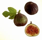 Three Figs; One Cut in Half