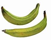Two Green Bananas
