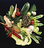 An Assortment of Fresh Vegetables