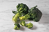 Broccoli with individual florets