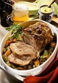 Pork Roast with Vegetables