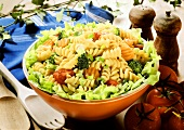 Spiral Pasta Salad with Fresh Vegetables