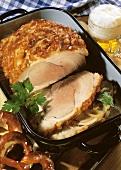 A Pork Roast; Overhead