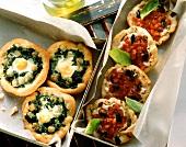 Assorted Mini Pizzas