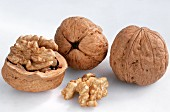 Walnuts in the Shell and out
