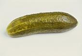 A single pickled gherkin