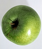 A Single Granny Smith Apple