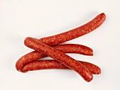 Several Links of Pepper Sausage