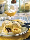 Bohemian plum dumplings (Svestkove knedlicky)
