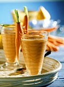 Carrot Milkshakes