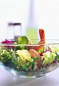 Big Bowl of Shrimp Salad