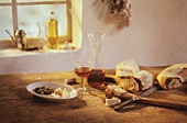 Rustic Italian Table Scene