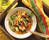 Pan cotto (bread soup with pumpkin & basil, Italy)