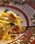 Ravioli vegetariani (Vegetable ravioli, Italy)