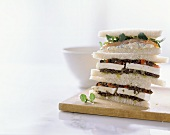 Tramezzini diversi (sandwiches with various fillings)