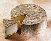 Tomme de Savoie, a French semi-hard cheese
