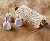 Baratte and Binouchet, French goat's cheeses