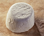 Chevre frais, a French fresh goat's cheese