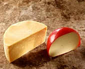 English cheddar and Dutch Edam