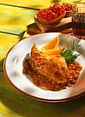 Rabbit with spicy tomato sauce (Majorcan style)