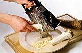 Grating horseradish