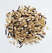A heap of 7 corn Equilinia rice mixture