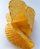 Three taco chips