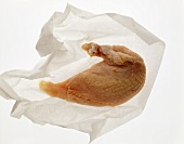 Chicken breast on white paper