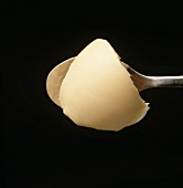 Margarine on a spoon