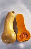 Butternut squash on light background
