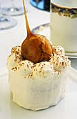 Chestnut fancy with cream and caramelised chestnuts