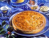 Norwegian Prinzenkuchen with almonds for Christmas