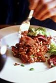 Beef Tatar essen