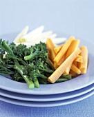 Sliced Vegetable Appetizer