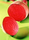 Cut Red Beet
