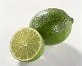 Lime and half a lime