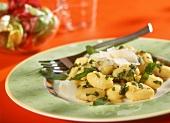 Gnocchi alla salvia (Gnocchi with sage butter and Parmesan)