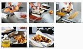 Wiener Schnitzel (paniertes Kalbsschnitzel) zubereiten