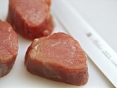 Correctly stored beef fillets