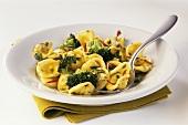 Orecchiette alla pugliese (Orecchiette with broccoli & chili)