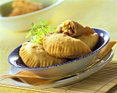 Empanadas with mince filling from the Philippines