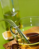 Vinaigrette with garlic and chives