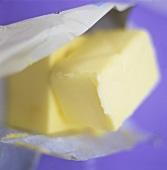 Butter in butter paper