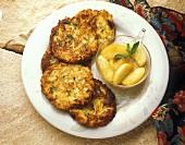 Latkes: Jewish potato pancakes for Hanukkah