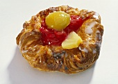 Danish pastries with fruit