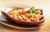 Insalata di cannellini (white bean salad, Italy)