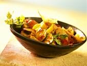 Crossover: französische Ratatouille mit asiatischer Sauce