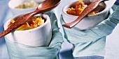 Provencal potato soup with tomatoes