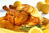 Pollo al limone (lemon chicken), Sicily, Italy