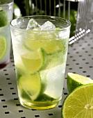 Caipirinha with Limes